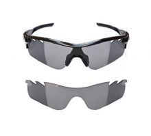 TRANSITION PHOTOCHROMIC VENTED CUSTOM PATH LENS FOR OAKLEY RADARLOCK SUNGLASSES